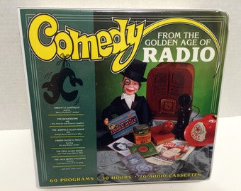 Comedy From The Golden Age Of Radio  20 Audio Cassette Box Set 1996  60 Programs  30 Hours