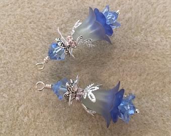 Vintage Lucite Earrings