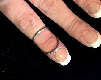 Silver Ring Splint- Standard DIP or PIP Swan Neck Splint- Custom Made