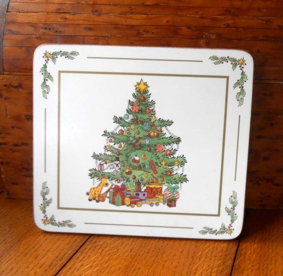 Christmas Tree Trivet Pimpernel Made In England Farmhouse and Cottage Holiday Decor
