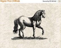 60% OFF SALE Horse Vintage Illustration Horse Download Digital Art - Vintage Horse Clipart Graphic Printable Transfer Craft Scrapbook INSTAN
