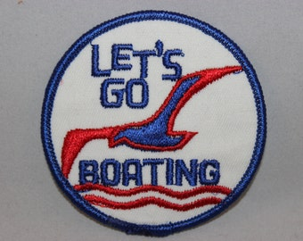 Let's Go Boating Patch