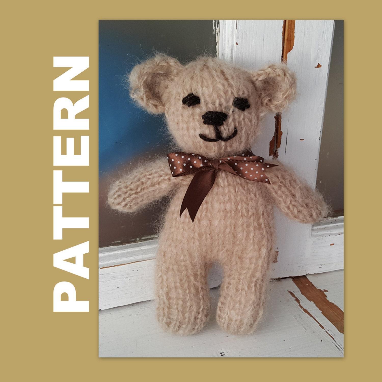 Toy bear knitting pattern teddy bear pattern bunny knitting zoom bankloansurffo Gallery