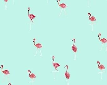 Flamingos - Flamingo Aqua - Iza Pearl Design - Windham (42278-5)
