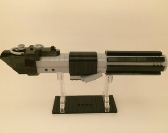 LEGO Custom DARTH VADER Lightsaber Replica from Star Wars Episode 4 A New Hope Reveal Red Crystal