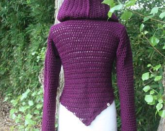 NEW  Short  Pixie Bolero with hood