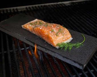 SALE! 2 Pack Vermont Grillstone for Healthy Grilling on Natural Stone - Buy now!