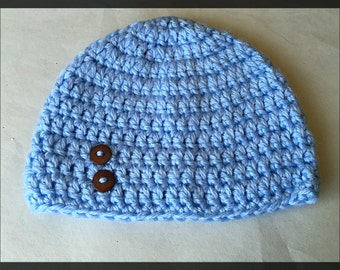 READY TO SHIP!! Limited Edition! Blue Baby Beanie