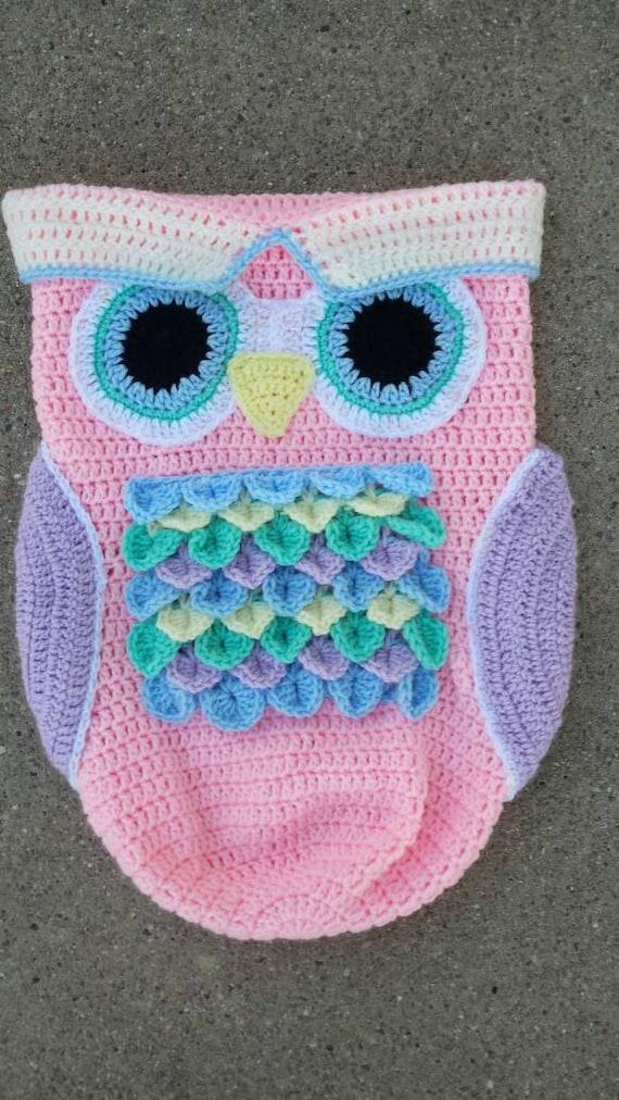 Crochet Owl Cocoon : Crochet Happy Owl Cocoon