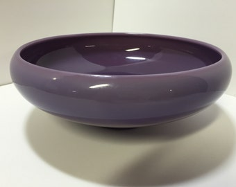 Cambridge Glass Bowl, Cambridge Heliotrope Bowl, Art Glass Bowl, Purple Bowl, Purple Glassware