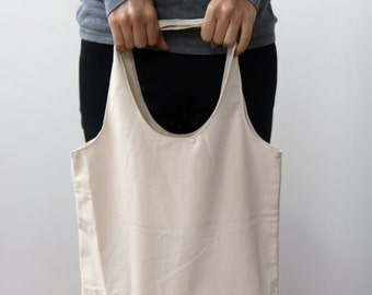 100% cotton canvas bag, eco friendly cotton fabric, Style#105