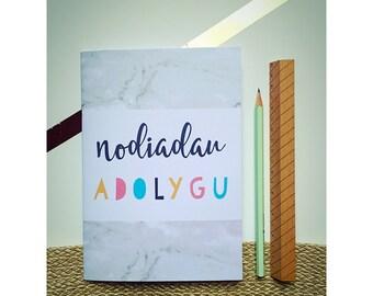 """Llyfr Nodiadau Adolygu/ """"Revision Notes"""" Notebook (Welsh Language)"""