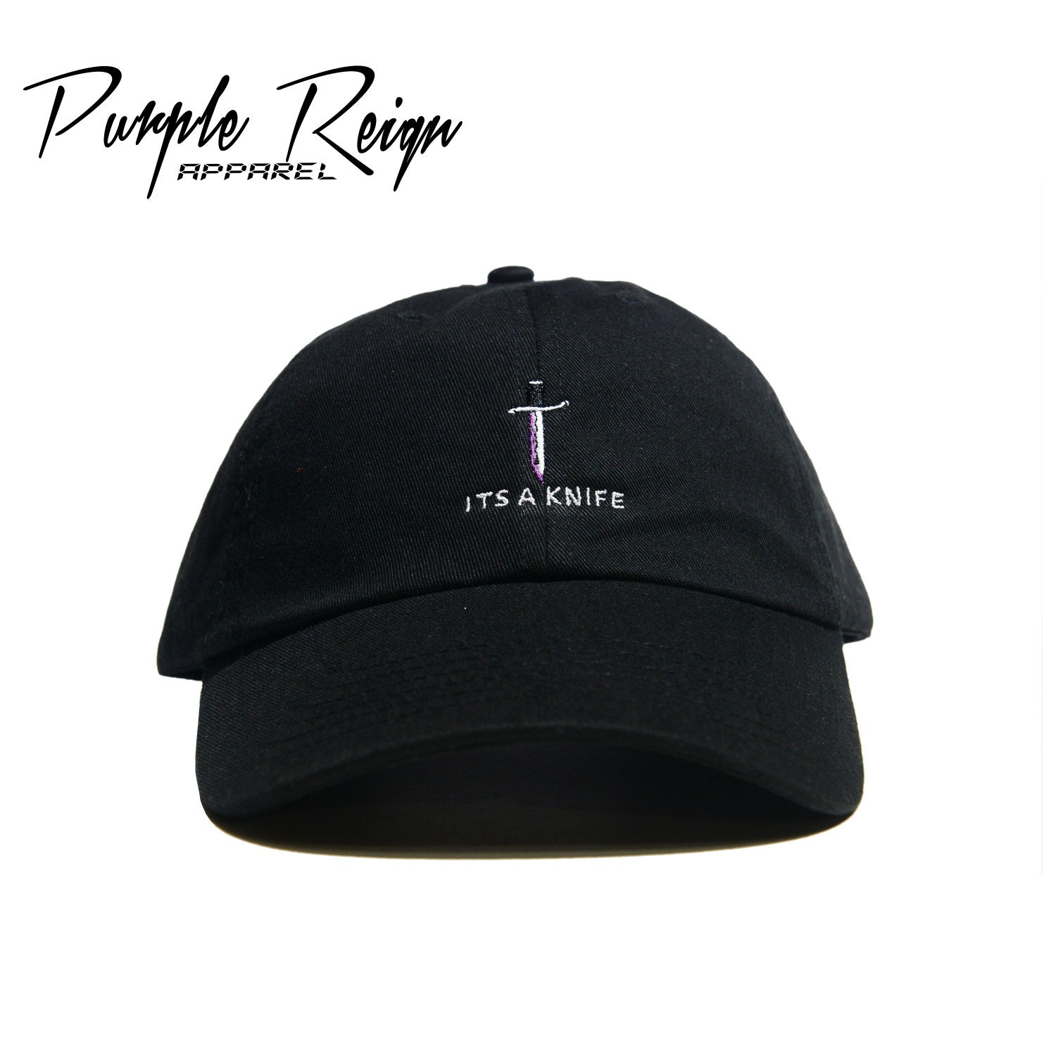 White baseball caps for crafts - Its A Knife Embroidered Dad Hat 21 Savage Bathing Ape Yeezy Ftp Gucci Mane