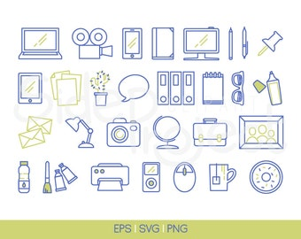 30 workplace icons