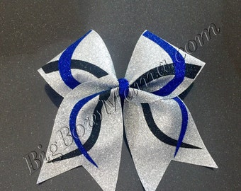Custom Glitter Cheer Bow