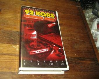 92.5 kq 92 best of the morning show tom barnard terri traen the chucker kqrs 4 cassete tape boxed set