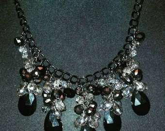 clustered necklace