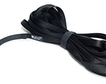 20 Foot Dog Leash - 1 Inch Nylon - Long Dog Leash with Storage Strap for Training & Play