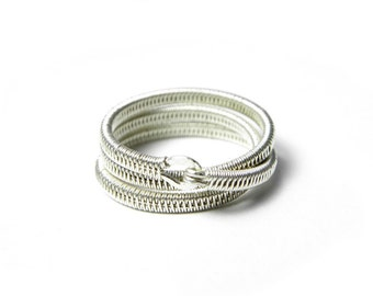 Aimil, Woven Ring in Sterling Silver.