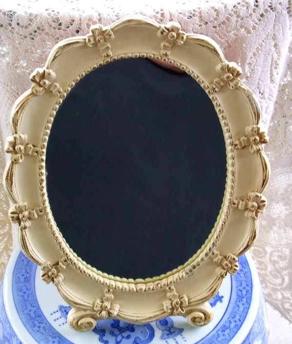 Vintage Cottage Chic Mirror Home Decor by WhatnotsAndFancifuls