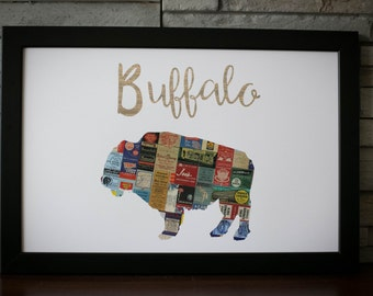 Buffalo New York in Vintage Matchbooks
