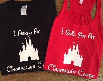 Set of Disney Proposal Shirts