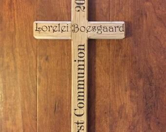Reclaimed Oak Cross