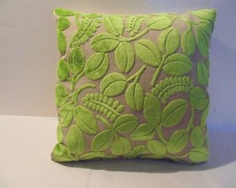 Designers Guild Velvet Calaggio-Apple Cushion Cover / Pillow