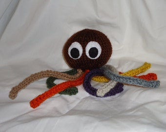 Doctor Who Knit Steampunk Octopus