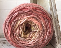 100% Wool from Lancashire, England British Wool, Gradient Yarn, DK, Symmetrical Hand Dyed