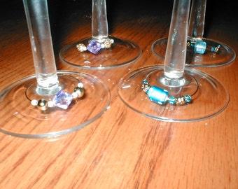 Wine Glass ID Rings