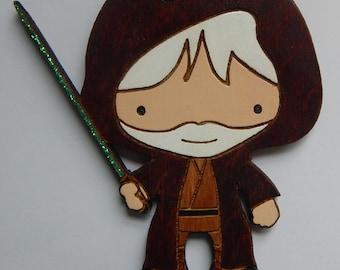 Personalized Star Wars Obi Wan Kenobi Chiristmas Ornament