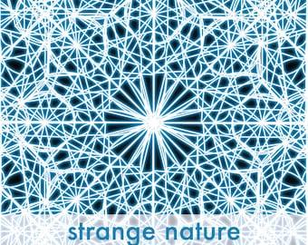 """2"""" Strange Nature Vinyl Sticker"""