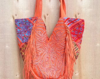 The Fringed Tote Bag