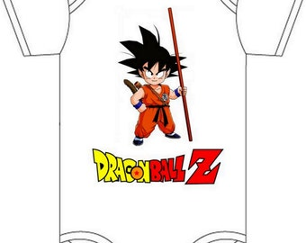 Daddys dragonball z onesie you pick size newborn / 0-3 / 3-6 / 6-12 / 18 24 month
