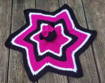 Crochet Minnie Mouse Lovey