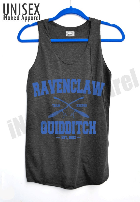 Ravenclaw Quidditch Blue Logo Shirt Harry Potter by ...
