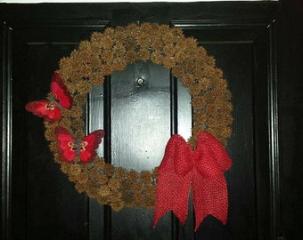 Handmade Sweet Gum Wreath
