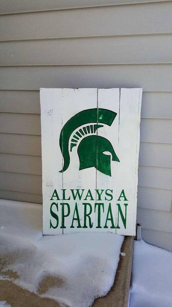 Michigan Man Cave Signs : Michigan state spartans sign sports man by