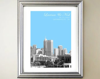 Indianapolis Personalized Cityscape