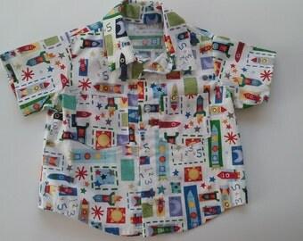 Toddler Short-sleeved Shirt
