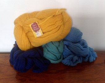 Vintage Sock Weight Yarn. Pure Scottish Wool.