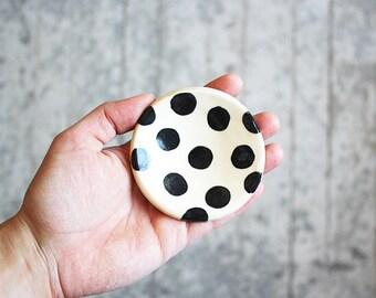Polka Dot Ring Dish