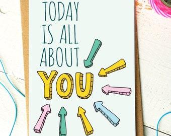 Funny Birthday Card - Friend Birthday Card - Birthday Card Funny - Funny Friend Card  - Bday Card - Best Friend Card - Boyfriend Card