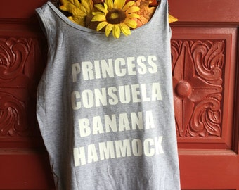 Princess Consuela Banana Hammock, Phoebe, Friends, Tv Show, shirt, Joey, Chandler, Monica, Rachel, Ross,