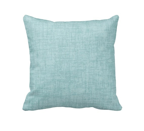 Light Blue Throw Pillow Covers : Light Blue Pillow Cover Solid Blue Pillows Blue Throw Pillows