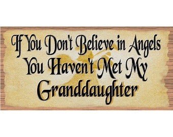 Granddaughter Sign - GS 1715 - Granddaughter plaque