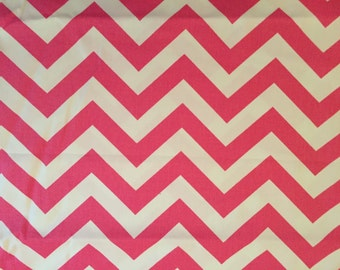 Fabric choice for Concealed Carry Handbag Pink Chevron