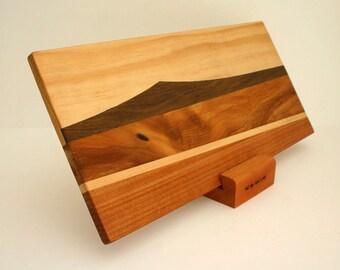 Wood Landscape Serving Board, Chopping Board, Reclaimed Wood Cutting Board, Wedding Gift