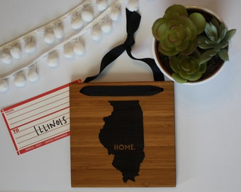 ILLINOIS//Bamboo State Sign